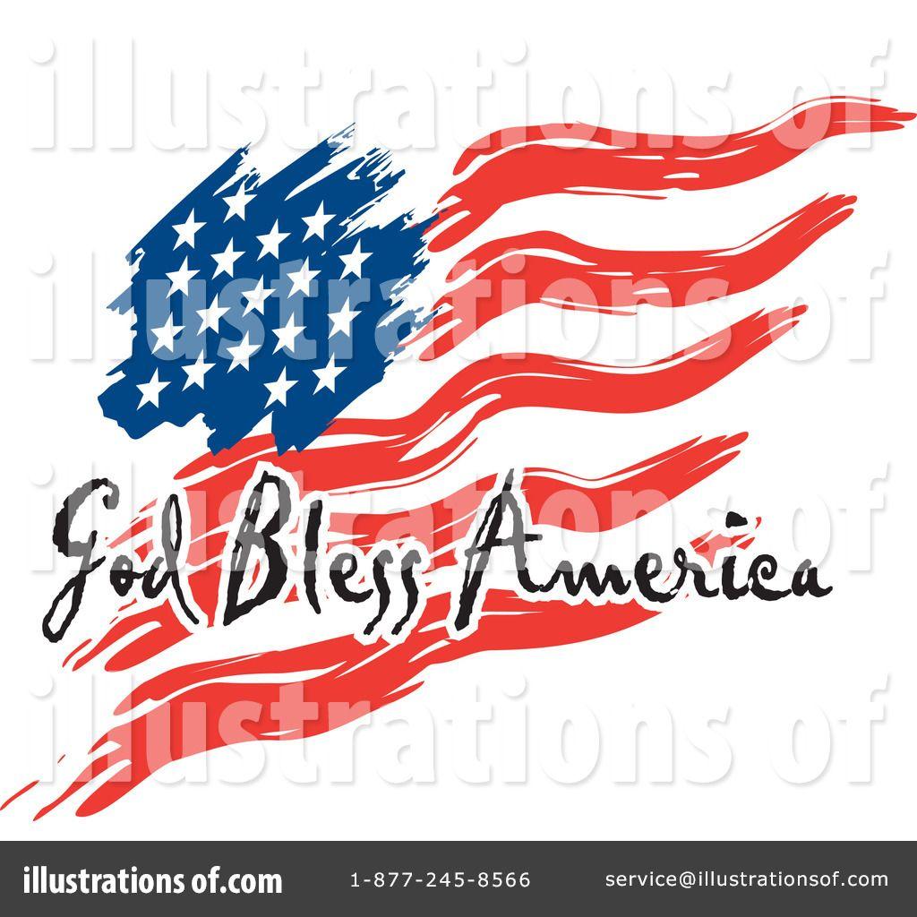 1024x1024 Clip Art American Flag