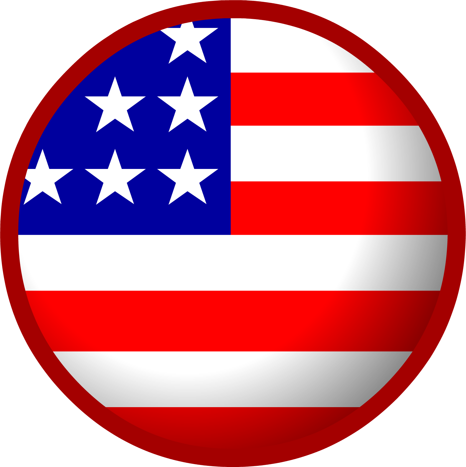 1582x1584 American Flag Clip Art Images Free