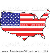 164x175 Royalty Free United States Of America Stock Americana Designs