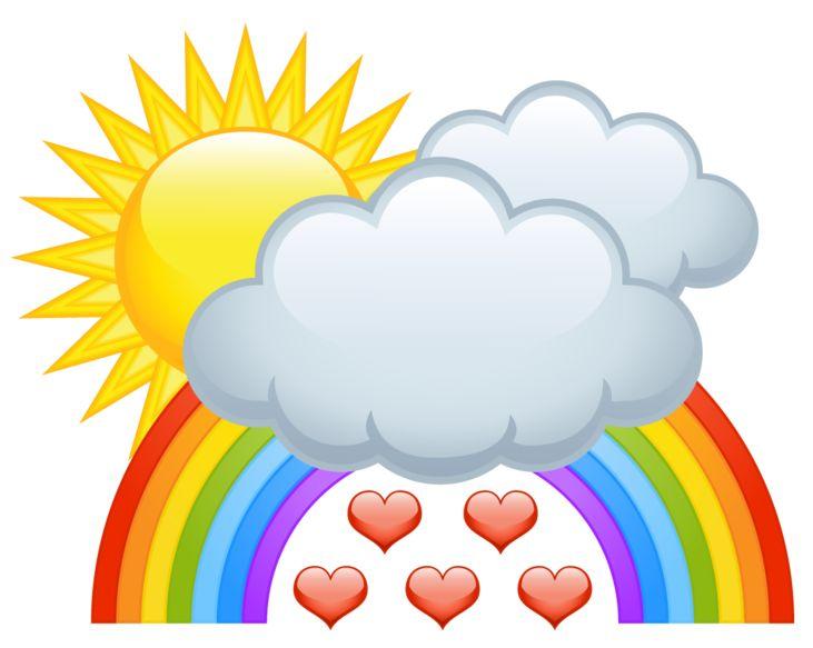 731x583 51 Best Clip Images On Rainbow, Rainbows