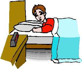 286x239 Waking Up Clip Art