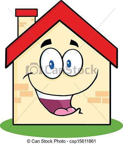 402x470 Happy House Cartoon Thumb Up Royalty Free Cliparts Vectors