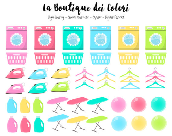 570x453 Laundry Clipart, Cute Digital Graphics Png, Washing Up, House