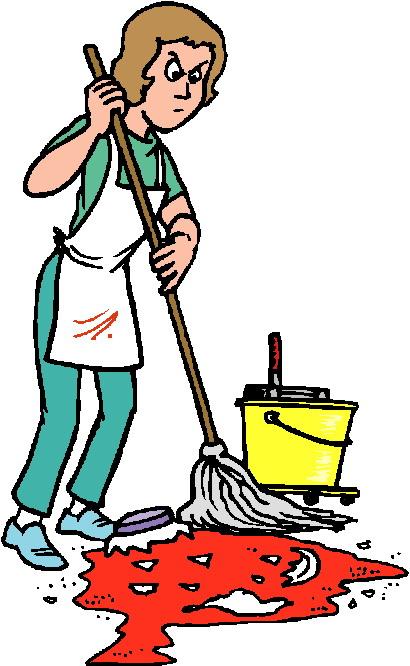 410x666 Clip Art Activities Cleaning