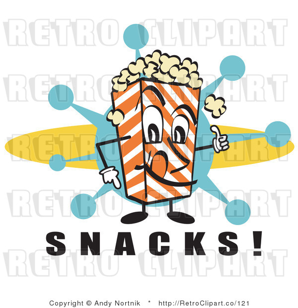 600x620 Royalty Free Retro Vector Clip Art Of A Popcorn Carton Character