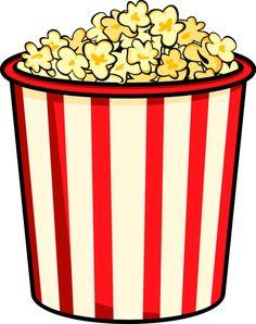 236x298 Free Cartoon Graphics Fair Food Popcorn Clip Art