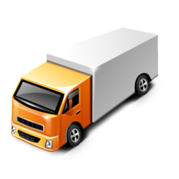 600x600 Delivery Truck Clipart Png