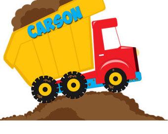 340x270 Free Dump Truck Clipart