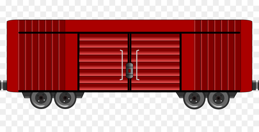 900x460 Freight Container Clipart