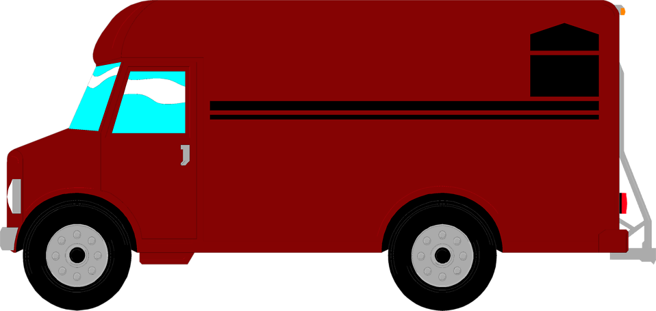 958x455 Collection Of Delivery Van Clipart High Quality, Free