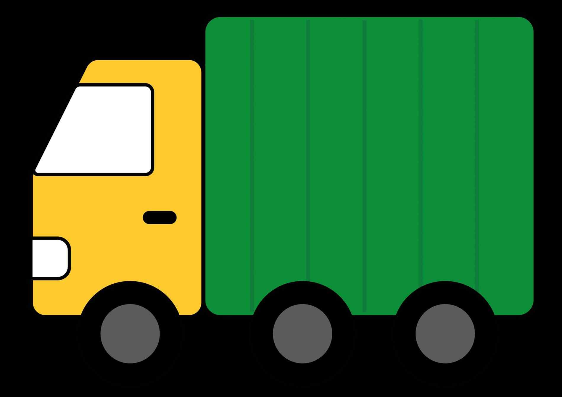 1899x1342 Red Ups Delivery Truck Clipart Pickup Panda Free Imagesrhpandacom