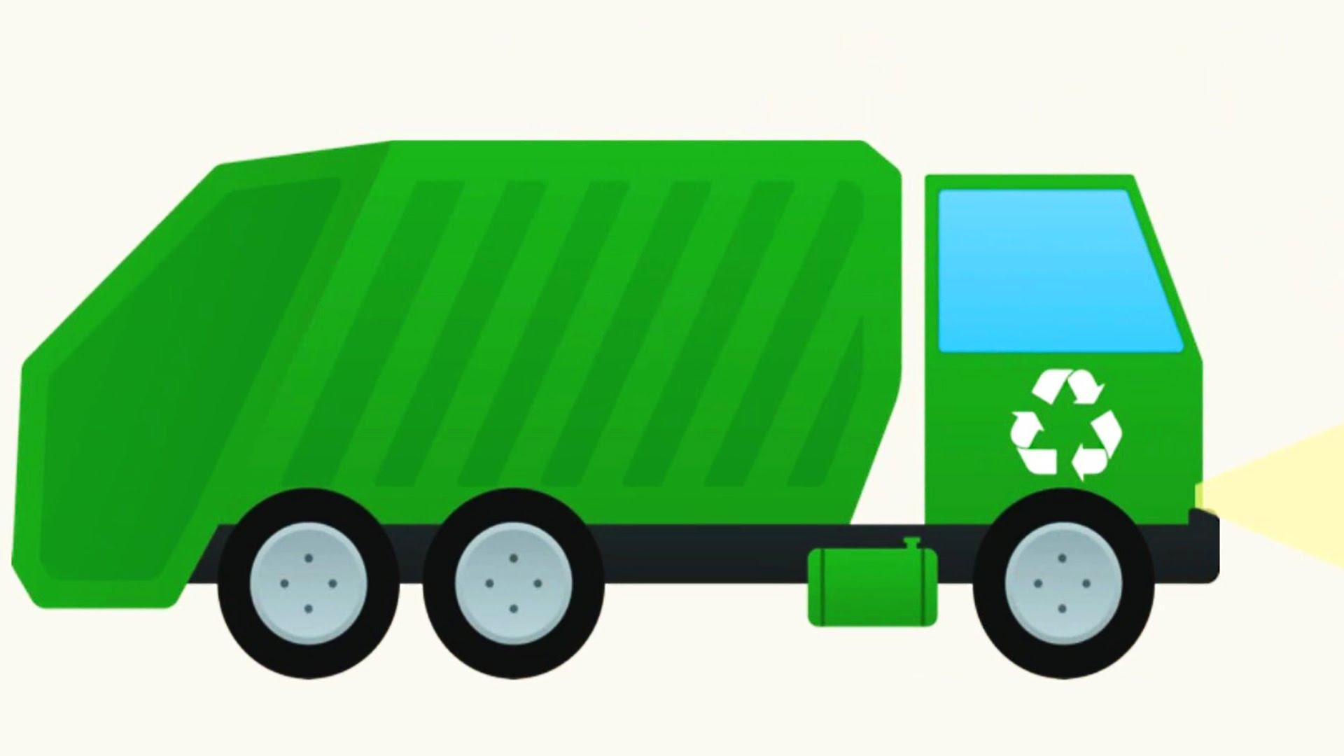 1920x1080 Refuse Truck Cliparts Free Download Clip Art