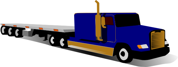 600x228 Ups Delivery Truck Clipart