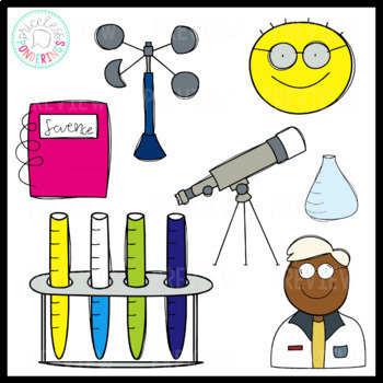 350x350 Science Tools Clip Art By Sarah Price