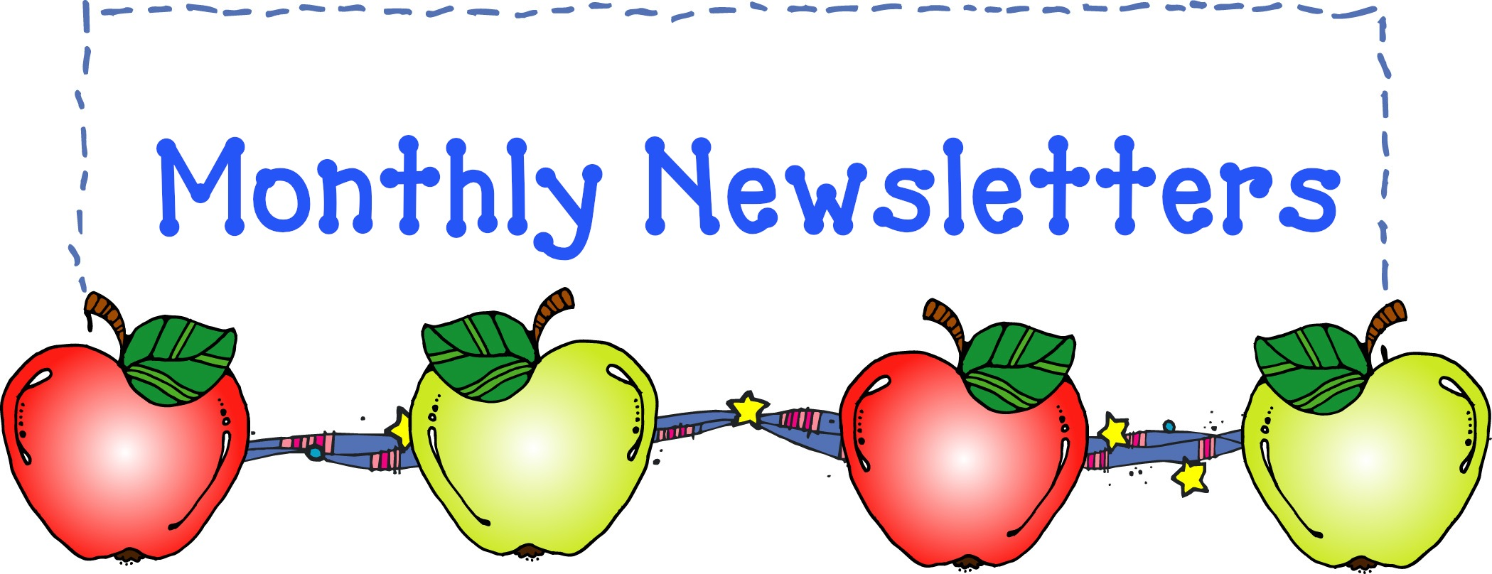 2099x808 Collection Of School Newsletter Clipart High Quality, Free