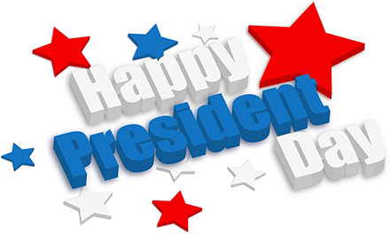 440x264 Presidents Day Clipart