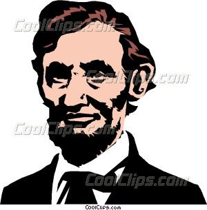 300x305 Stylish Abraham Lincoln Clipart American Presidents President