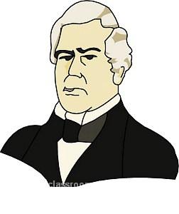 252x300 American Presidents Clipart Millard Fillmore