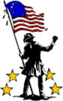 219x350 Free Patriotic Clipart Picture Of Civil War Soldier Holding
