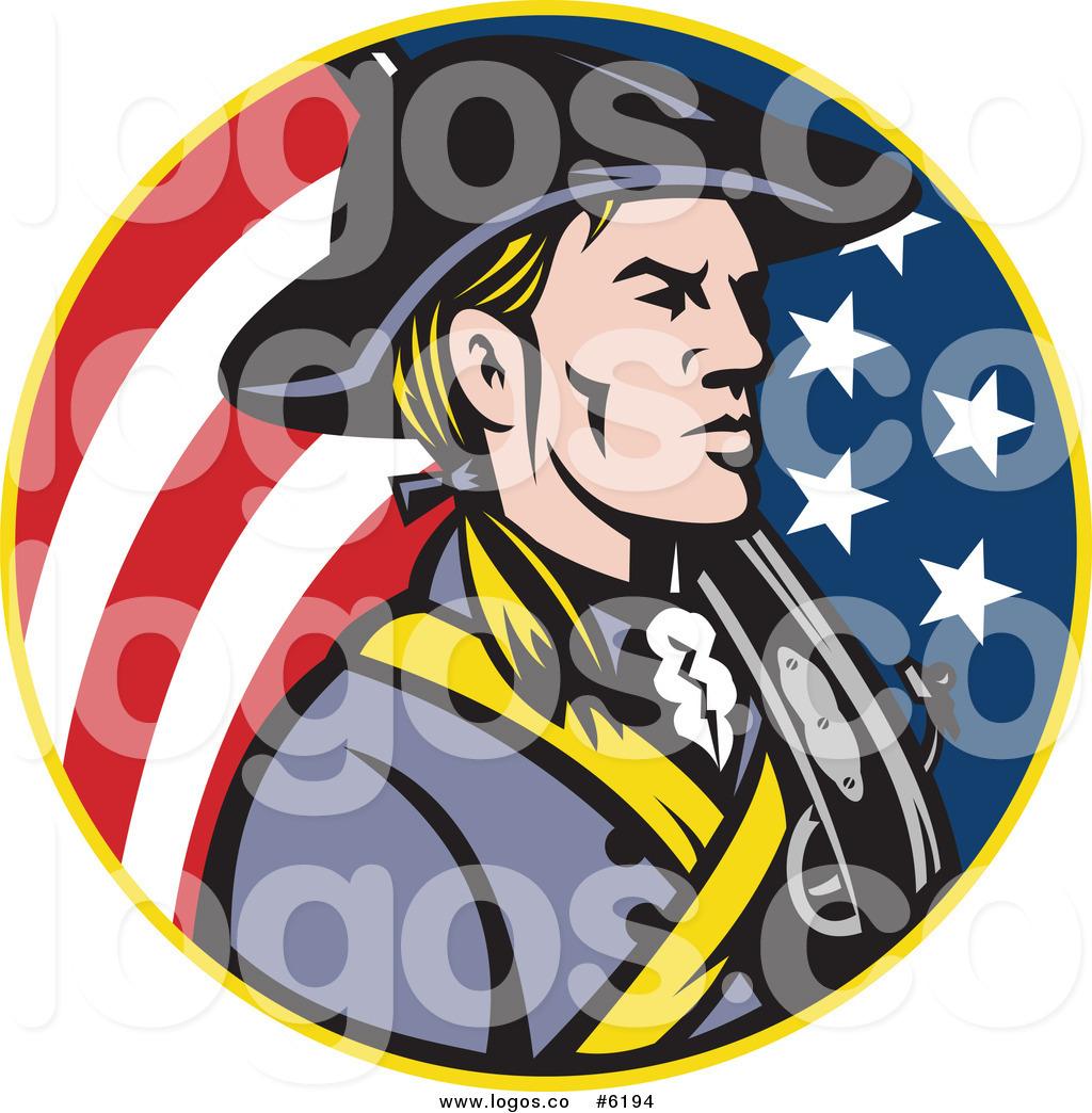 1024x1044 Royalty Free Clip Art Vector Logo Of An American Revolutionary