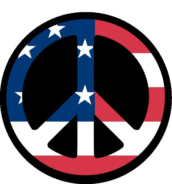 555x593 Clip Art Countries Us Flag Peace Symbol Fav