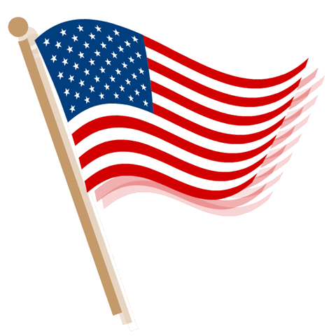 480x480 Us Flag American Flag Banner Clipart Free Images 4