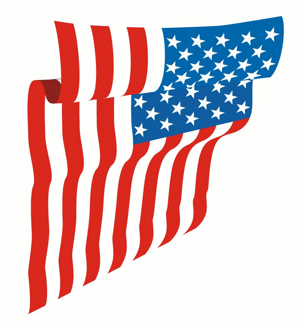 1000x1076 Us Flag American Flag Waving Clipart Kid 2