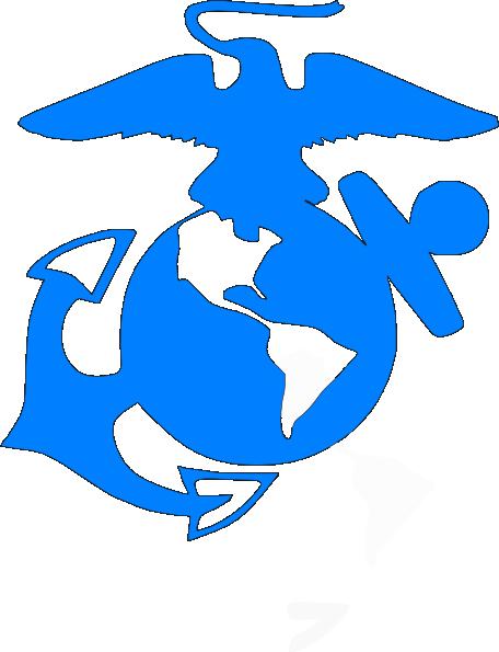 456x595 Usmc Blue Clip Art