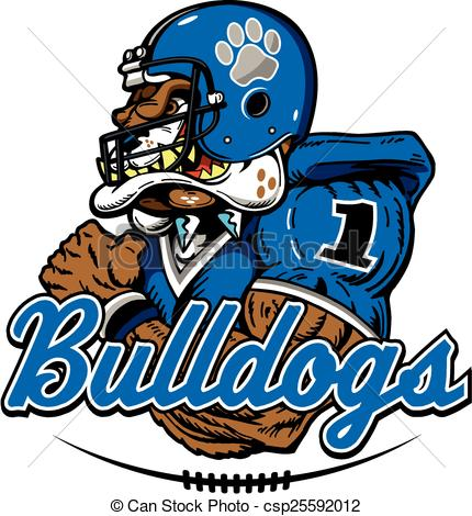 430x470 Collection Of Bulldog Football Clipart High Quality, Free