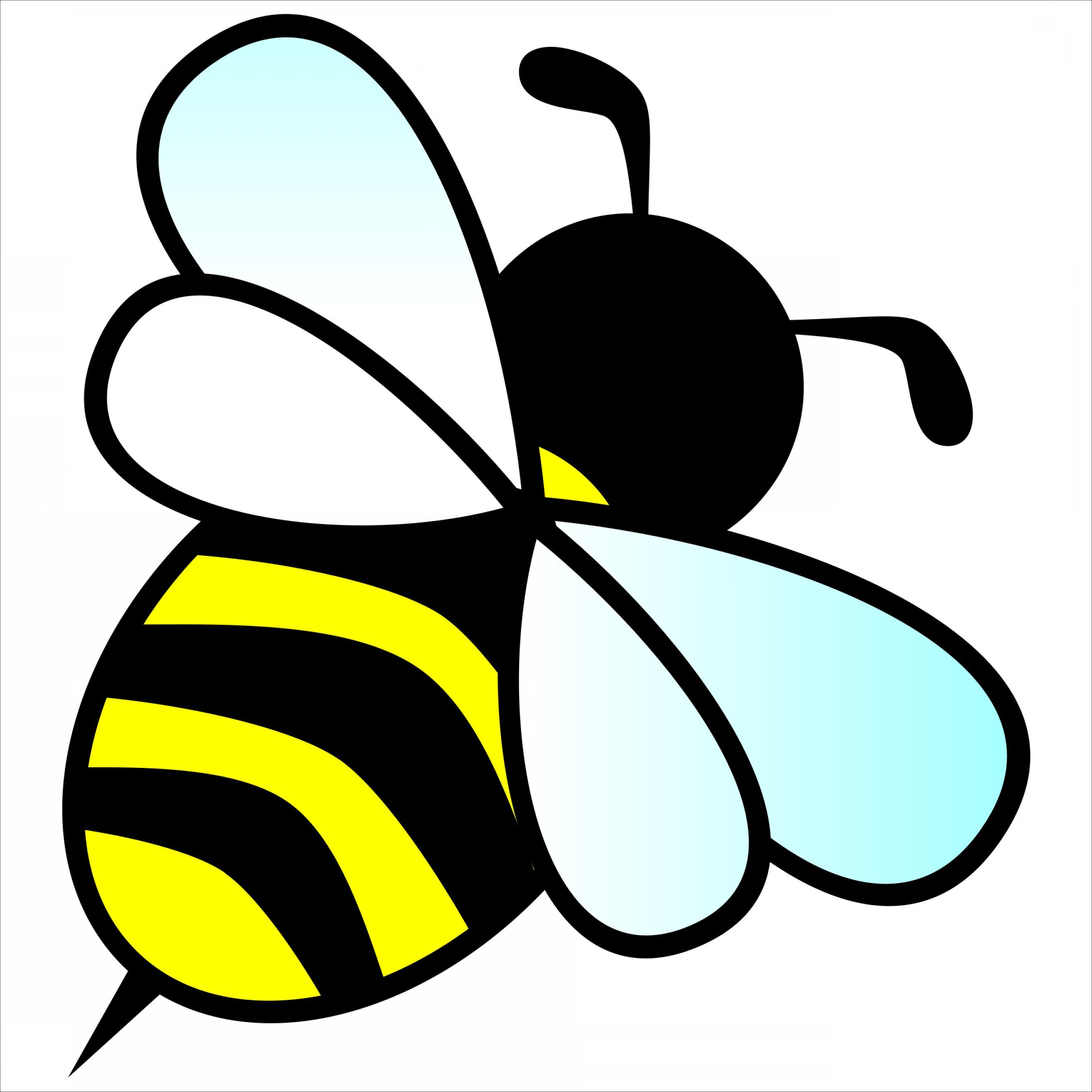 2628x2628 Bee Clip Art Vector Lazttweet