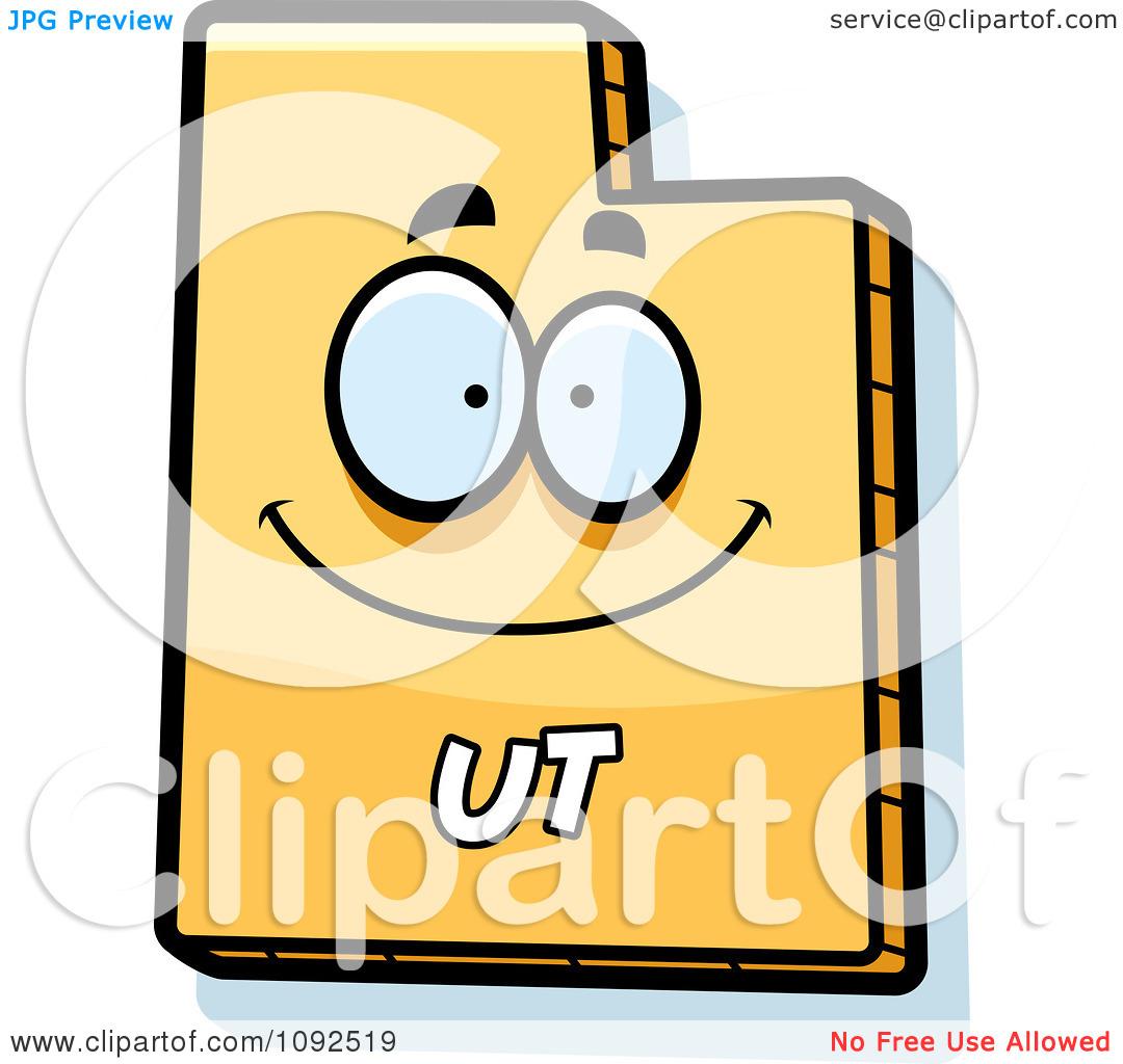 1080x1024 Utah Clipart Group