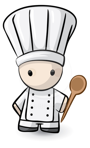 358x590 Cute Cooking Utensils Clipart
