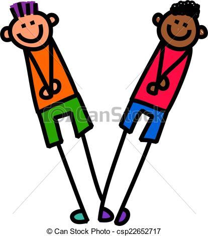 414x470 Alphabet Letter V Boys. Cartoon Stick Kid Drawing