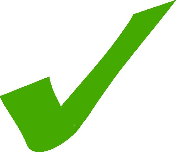 600x518 Check Sign Clip Art