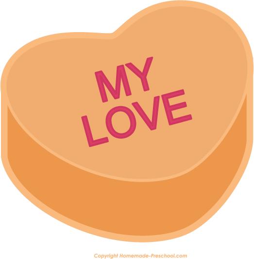 523x532 Free Valentine Heart Clipart