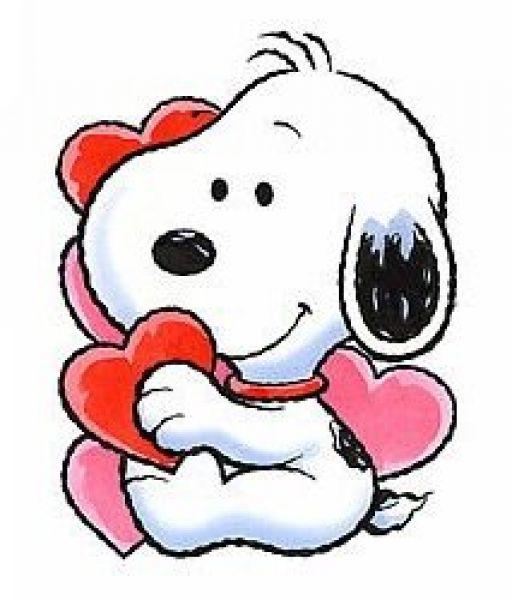 512x600 Free Charlie Brown Valentine Day Clipart
