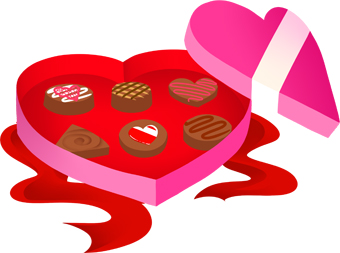 340x253 Valentine Chocolate Clipart Quotes Amp Wishes For Valentine's Week