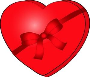 300x257 Valentine Chocolate Clipart Valentine's Day Info