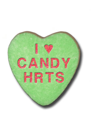 320x480 Valentine Candy Hearts Clip Art Kiss Me Candy Heart Clipart