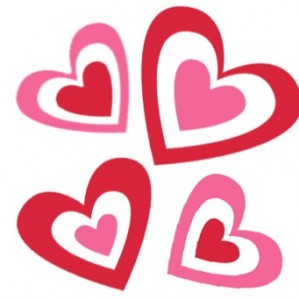 299x300 Collection Of Valentines Day Heart Clipart High Quality