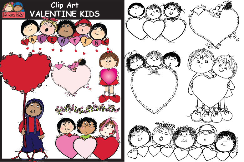 780x520 Look What You Can Do With Clip Art Valentine Bookmarks Karen'S