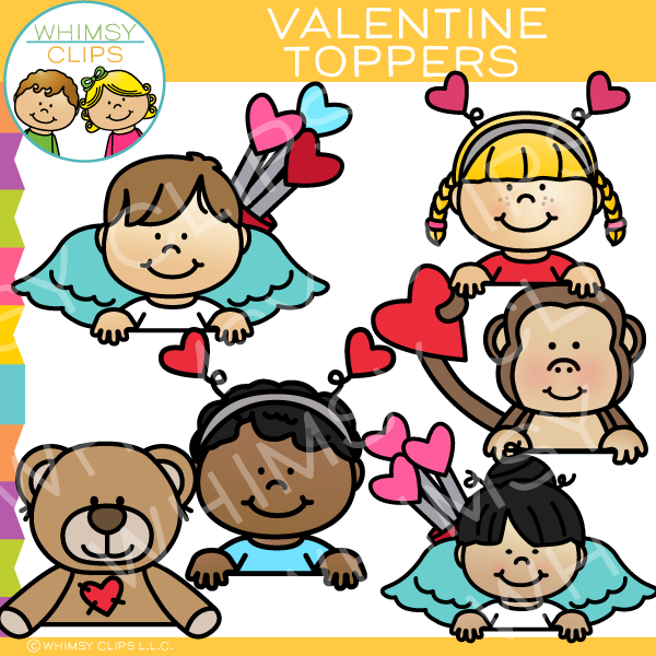 600x600 Valentine's Day Clip Art , Images Amp Illustrations Whimsy Clips