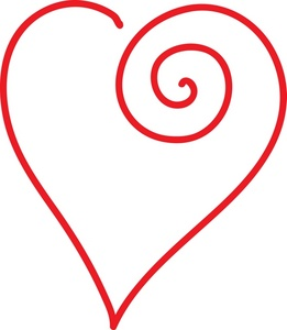 261x300 Free Heart Clipart Image 0071 0904 2000 1161 Valentine Clipart