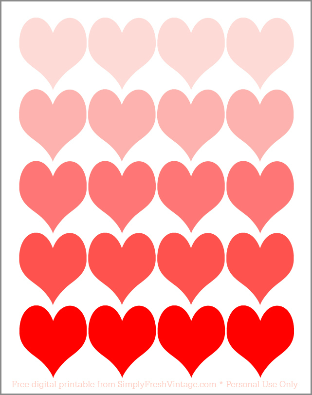 641x811 Valentines Day Heart Printable Valentine Love Free Printable