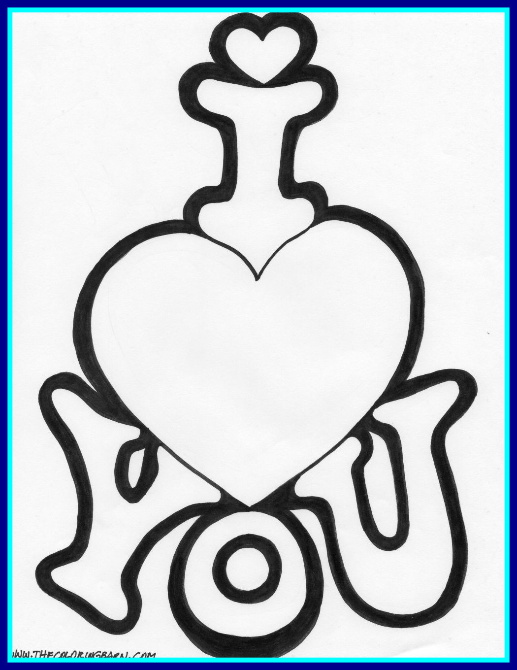 1050x1360 Astonishing Love You Coloring Page Be My Valentine Pics For Kitten