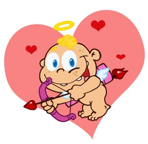 300x293 Free Cupid Clipart Image 0521 1002 2713 5048 Valentine Clipart