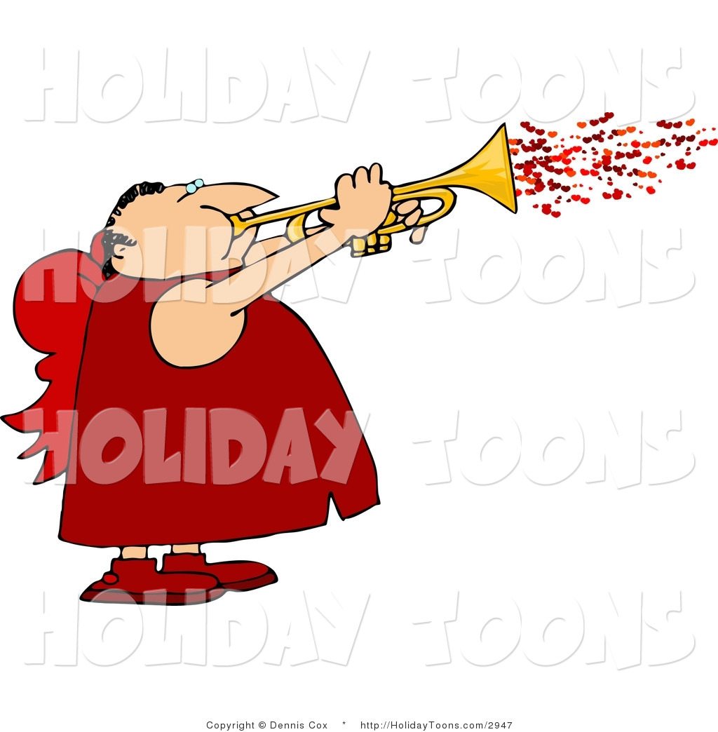 1024x1044 Royalty Free Holiday Clipart Of A Fat Man Wearing Valentine Cupid