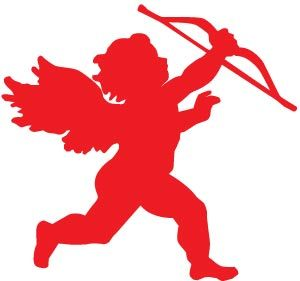 300x281 Valentine Cupid Free Clipart Primary Clip Art