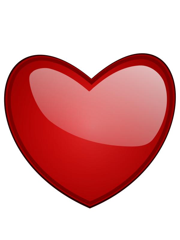600x800 Happy Valentines Day Heart Clip Art