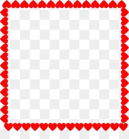 260x280 Heart Picture Frames Valentine's Day Clip Art